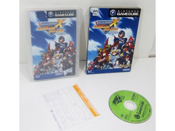 Rockman X: Command Mission (Mega Man) till japanskt GC GameCube