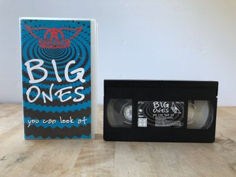 Aerosmith - Big ones you can look at - VHS
