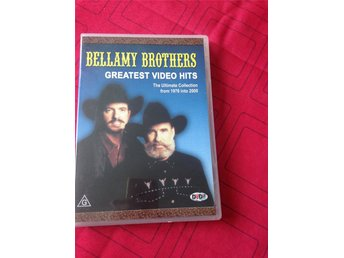 Bellamy Brothers ,greatest video hits DVD i fint skick.