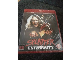 Splatter university. 88 films slasher collection blu-ray
