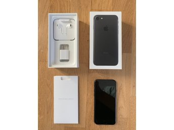 iPhone 7 Svart 128 GB Olåst