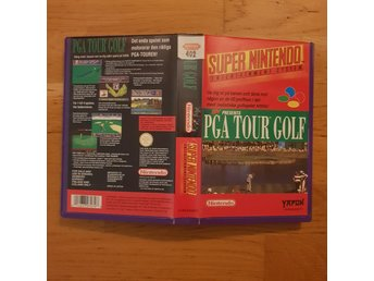PGA Tour Golf - Hyrbox - Super Nintendo Yapon SNES