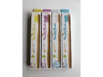 NY! Humble Brush Tandborste Barn PAKET m fyra t.. (338685526) ᐈ Köp ... e2bdd005823b8
