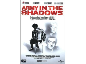 Army in the Shadows (1969) Jean Pierre Melville med Lino Ventura, Paul Meurisse
