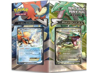 Pokemon Battle Arena Decks: Rayquaza vs Keldeo - Kortspel - Varberg - Pokemon Battle Arena Decks: Rayquaza vs Keldeo - Kortspel - Varberg
