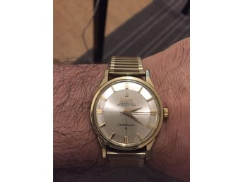 Omega Constellation Chronometer Officially Certified Automatic Pie Pan Guld p St