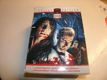 SPECIAL EDITION HORROR DVD PAKET