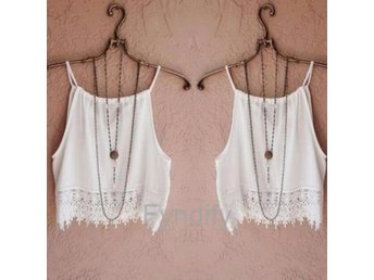 Blus/Top Tassels Vit XL