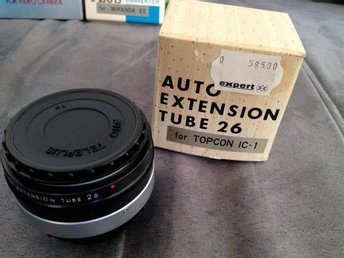 AUTO EXTENSION TUBE 26 FOR TOPCON IC-1   TOPPSKICK EJ ANVÄND