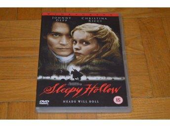 Sleepy Hollow ( Johnny Depp Christina Ricci ) 1999 - DVD - Töre - Sleepy Hollow ( Johnny Depp Christina Ricci ) 1999 - DVD - Töre