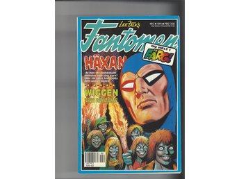 Fantomen 8 st 2-9 1991 skick vf - Skoghall - Fantomen 8 st 2-9 1991 skick vf - Skoghall