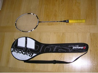 BABOLAT N-FORCE POWER med fodral SVART färg