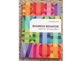 "10st böcker ""Business Behavior"" av Ann-Marie Palm,  kommunikationsstrateg."