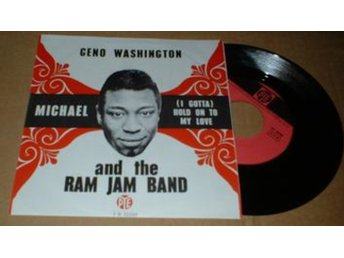 "WASHINGTON, GENO AND THE RAM JAM BAND MICHAEL 7"" Vinyl"