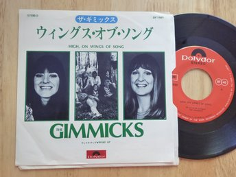 GIMMICKS - High on wings of song Eng version av melodifestival Polydor Japan -75