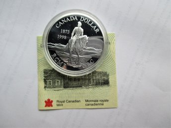 Canada, 1 dollar, 1998 Royal Canadian Mounted Police KM#306