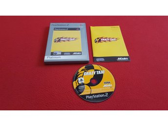 CRAZY TAXI till Sony Playstation 2 PS2