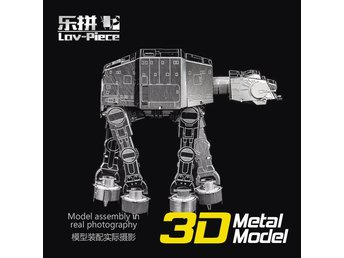 3D Pussel Metall - Star Wars - Starwars - AT-AT