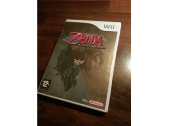 Nintendo Wii-spel the legend of Zelda twilight Princess