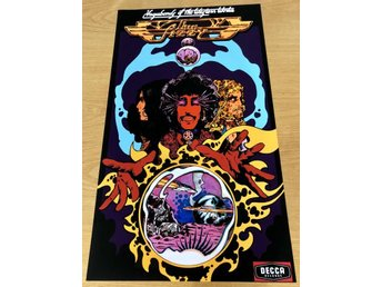 THIN LIZZY VAGABONDS OF THE WESTERN WORLD 1973 POSTER