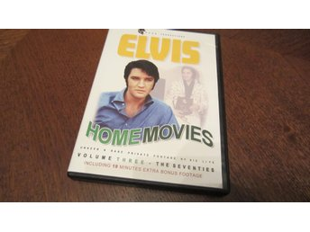 "Elvis Presley DVD: ""Home Movies of Elvis- 70´s"""