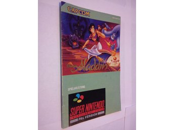 SNES: Manualer: Aladdin (Manual - Tysk)