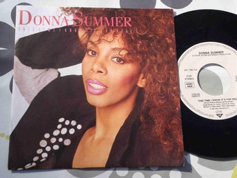 "DONNA SUMMER - THIS TIME I KNOW IT´S FOR REAL 7"" TOPPSKICK!"