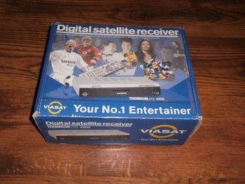 Thomson DSI 4200 - satellit viasat box - Mjölby - Thomson DSI 4200 - satellit viasat box - Mjölby