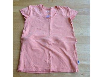 Amningstopp t-shirt från M.AMMA PO.P stl S mamma topp - Bro - Amningstopp t-shirt från M.AMMA PO.P stl S mamma topp - Bro