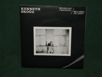 KENNETH SKOOG - Moonlight Fantasies 7'' 1980 Minimal synth / Punk