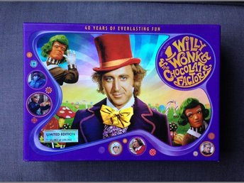Willy Wonka & the Chocolate Factory 40th Anniversary Collector's Edition box - örebro - Willy Wonka & the Chocolate Factory 40th Anniversary Collector's Edition box - örebro