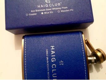 "Fickplunta för whisky i kartong ""Haig club"" Single Grain scotch whisky"