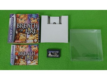 Breath of Fire KOMPLETT Nintendo GBA