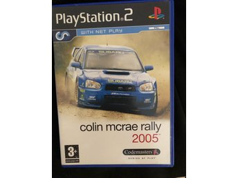 Play Station 2 colin mcRae rally 2005