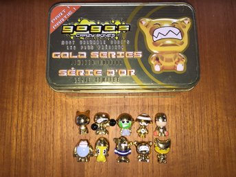 Alla figurer i 'Gold Series' & Tin - Gogos