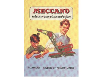 MECCANO - Plansch/Poster 30x40