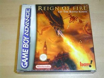 REIGN OF FIRE NINTENDO GAMEBOY ADVANCE GBA *NYTT*