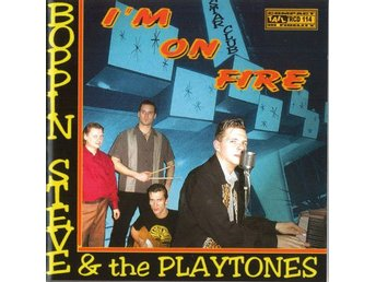 CD Poppin Steve & The Playones - I'm On Fire