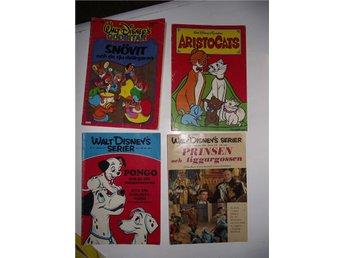 RETRO - 4 st Disney tidningar 1960,70 och 80 tal bla Aristocats/Snövit/Pongo.. - Malmö - RETRO - 4 st Disney tidningar 1960,70 och 80 tal bla Aristocats/Snövit/Pongo.. - Malmö