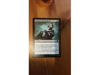 Magic the Gathering - Cemetery Recruitment (NM)