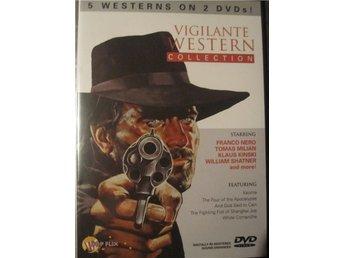 5 Westernfilmer med bl.a Lucio Fulci, Franco Nero, Inplastad - Enköping - 5 Westernfilmer med bl.a Lucio Fulci, Franco Nero, Inplastad - Enköping