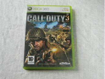 Call of Duty 3  -  Xbox 360 spel