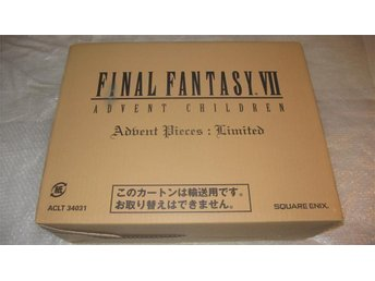 Final Fantasy VII Advent Children Advent Pieces Limited NYTT