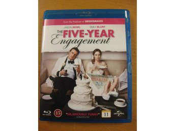 THE FIVE-YEAR ENGAGEMENT - JASON SEGEL, EMILY BLUNT - BLU-RAY