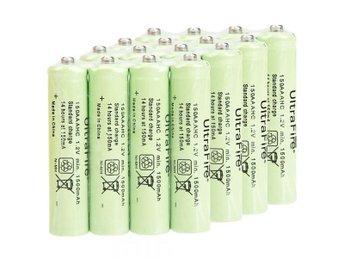 4st Ultra AAA 1.2V 1500mAh NiMH uppladdningsbara batterier - Sävedalen - 4st Ultra AAA 1.2V 1500mAh NiMH uppladdningsbara batterier FUNKTIONER Nytt batteri Hög kvalitet och hållbara Ger utmärkta kontinuerlig kraftkällor till enheten Hög energitäthet , lång batteritid Detta batteri har en extra lång livslä - Sävedalen