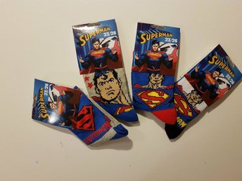 Superman strumpor 4-pack 27-30