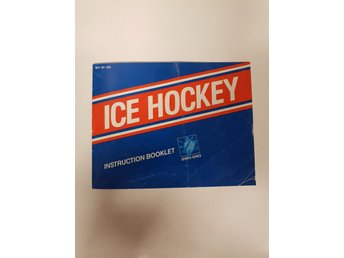 Ice Hockey - Manual NES NINTENDO - USA