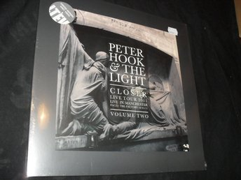 Peter Hook & The Light - Closer Live Tour 2011 Live In Manchester Volume2 , 2 LP