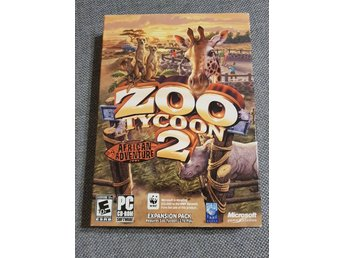 PC Spel Zoo tycoon 2 African adventure