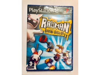 Rayman Raving Rabbids (NYTT PS2 Party-röj!)